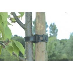 Collier Tree tie noir 0,55m