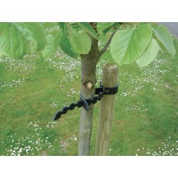 2 Colliers arbre Selfix noir 0,60m