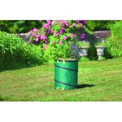 Sac à déchets pop-up vert 116l