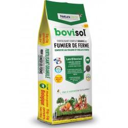 Bovisol fertilisant granulé au fumier de ferme 15 kg + 5 kg gratuits