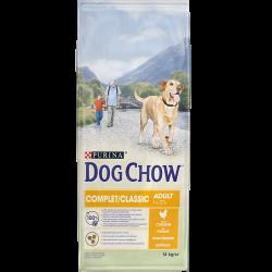 Dog Chow Complet / Classic Poulet - Croquettes chien - 14 kg