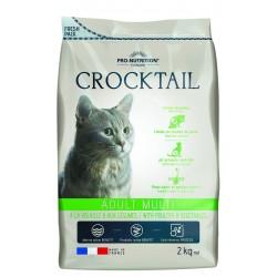Crocktail chat adult multi - 2 kg