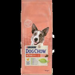 Dog Chow Active Poulet - Croquettes chien - 14 kg