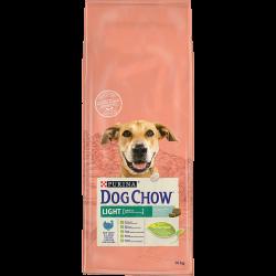 Dog Chow Light Dinde - Croquettes chien - 14 kg