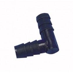 Jonction l pour tuyau 9 mm
