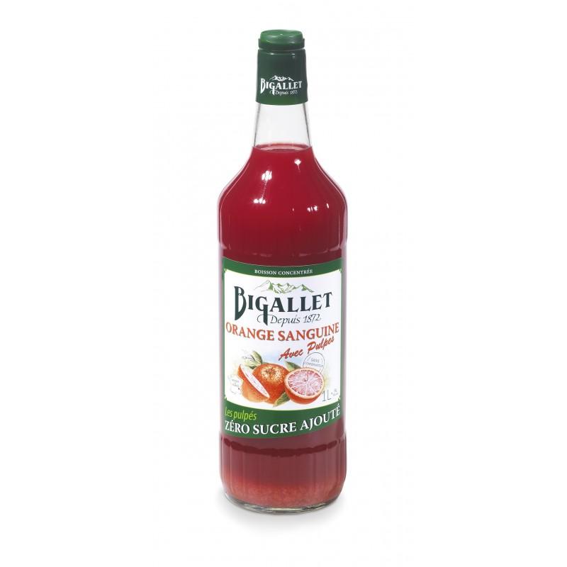 Concentré Giffard saveur orange sanguine pulpé 1 l