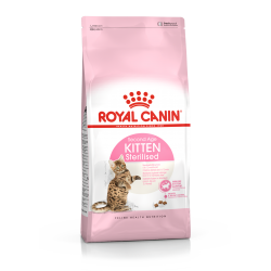 Royal Canin - Kitten Sterilised - Croquettes chaton - 2 kg