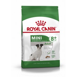Royal Canin - Mini Adult 8+ - Croquettes chien - 8 kg