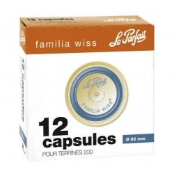 Capsules FW - ø 82 bleue - boite 12 - Le Parfait