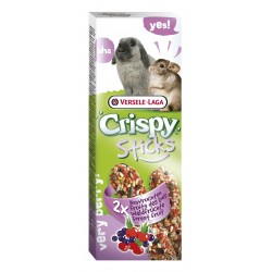 Sticks lapin chinchilla fruit des bois le lot de 2