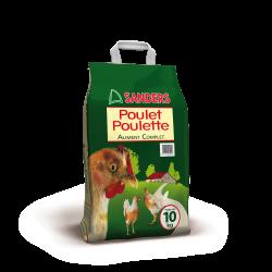 Granulés Poulet poulette 2ème âge - 10 kg