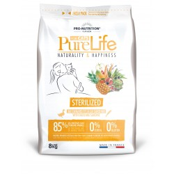Pure life chat stérilised sac de 8 kg