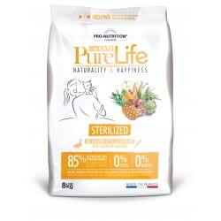 Pure life chat stérilised sac de 8 kg