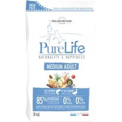 Pure life medium adult sac de 2 kg