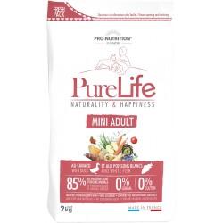 Pure life mini adult sac de 2 kg