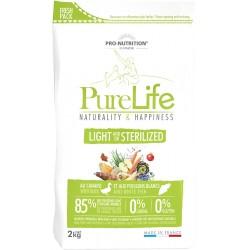 Pure life light/stérilisé sac de 2 kg