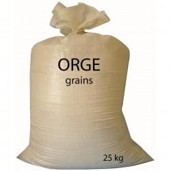 Orge grains sac de 25 kg